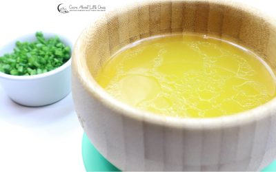 Simple Homemade Chicken Broth | Healthy Children Recipes