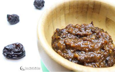 Prunes Puree | Baby Constipation Recipe