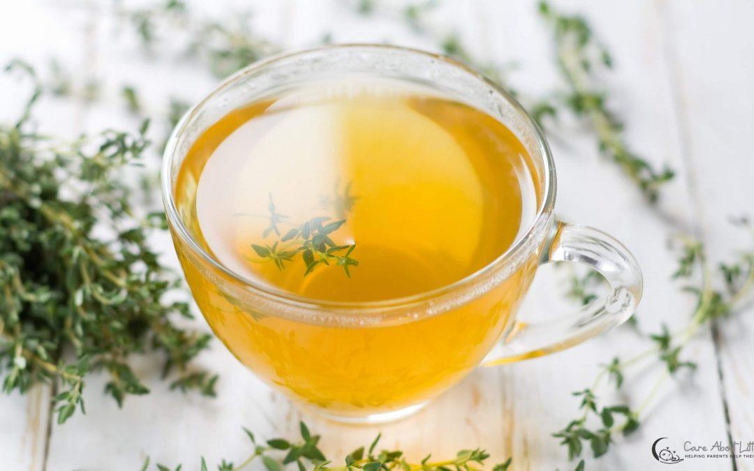Thyme Tea   Baby Cold Recipe